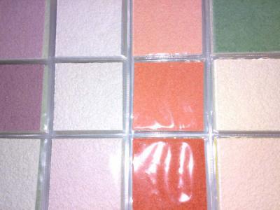 diverse kleuren sierpleister